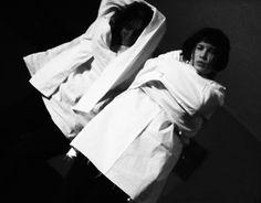 Federica Carteri e  Noemi Pezzini (sessione di laboratorio) Foto di Enrico Sfiligoi Postproduzione di Federica Carteri