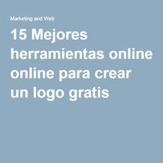 15 Mejores herramientas online para crear un logo gratis