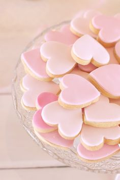 ♥  My grandmother always made heart pink frosted sugar cookies for Valentines Day!  Great memory~xoxox