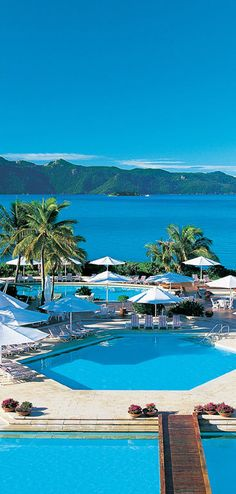 Hayman Island Resort on Australia's Great Barrier Reef • photo: The Tailor  لقطة جميلة من أستراليا !!