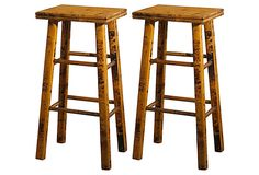 "Whitman 26"" Counter Stools, Pair on OneKingsLane.com"