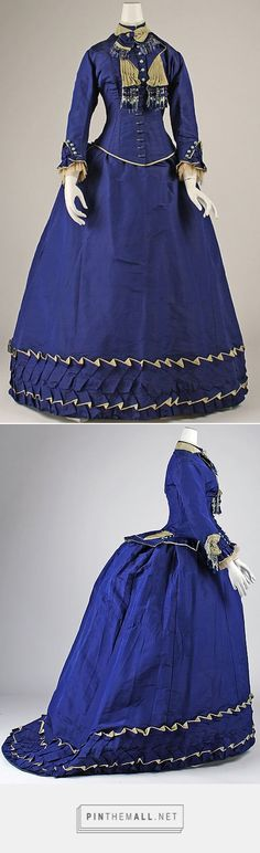 Afternoon dress ca. 1874 French | The Metropolitan Museum of Art