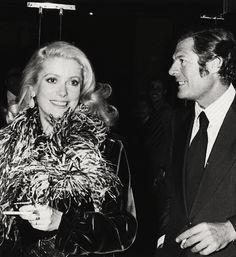 Marcello Mastroianni and Catherine Deneuve, 1970's