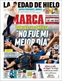 2018-02-18 Periódico Marca (España). Periódicos de España. Toda la prensa de hoy. Kiosko.net
