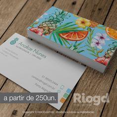 RioGD - Cartão de Visita Nutrição - Tropical Bali