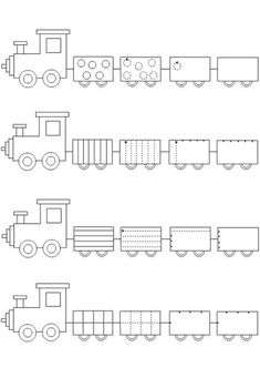 Crafts,Actvities and Worksheets for Preschool,Toddler and Kindergarten.Lots of worksheets and coloring pages. Train Crafts Preschool, Trains Preschool, Preschool Writing, Homeschool Kindergarten, Free Preschool, Kindergarten Worksheets, Kids Crafts, Learning Activities, Preschool Activities