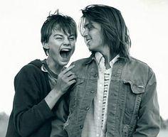 "Johnny Depp and Leonardo DiCaprio in ""What's Eating Gilbert Grape."""
