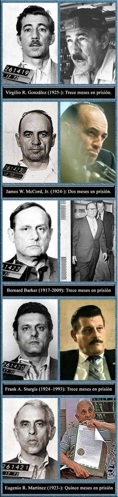 """02.30 AM del 17 de junio de 1972: Cinco miembros de la Operación 40 de la CIA, son arrestados dentro de la oficina del Comité Nacional del Partido Demócrata. James Walter McCord, Jr. era el líder y Director de seguridad del """"Comité para la reelección de Nixon"""". El grupo fue acusado de intento de robo e intento de intervenir las comunicaciones en la sede del principal partido opositor. http://www.washingtonpost.com/wp-dyn/content/article/2002/05/31/AR2005111001227.html"""