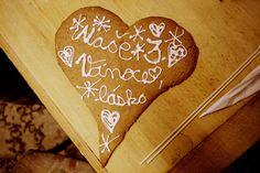Gingerbread heart for my boyfriend.