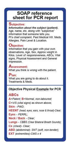Image result for emt assessment cheat sheet