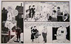 Captain Easy Sunday 1938 Comic Art