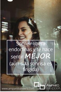 ¡Sonríe! :D :D :D  Amparo Bandera #Terapia #DecidoSerFeliz #Bienestar #SaludEmocional