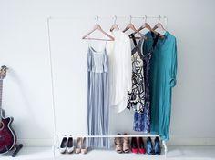 DIY Vaaterekki | Tee-se-itse rekki | DIY Clothing rack of pipes - Pupulandia | Lily.fi