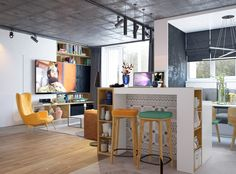 Apartments for young couple on Behance