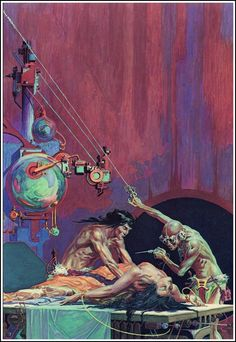 Cover for Mastermind of Mars (1963 edition) by Roy Krenkel