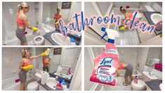 DEEP CLEAN & SANITIZE MY BATHROOM WITH ME (DURING COVID-19) - YouTube Cleaning My Room, Deep Cleaning, Summer Fresh, Bathroom, Youtube, Washroom, Full Bath, Bath, Bathrooms