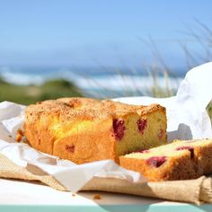 RASPBERRY POLENTA AND ORANGE LOAF - the perfect addition to any picnic.  With bursts of raspberry this dense loaf is easy to make and transports really well.  Recipe on the blog at #http://ift.tt/1DgdbOU #baking #bakingideas #picnictime #picnicfood #beachfood #beachlife #beach #beachlove #recipes #foodphotos #foodporn #food52 #hautecusines #f52grams #portfairy #lovetocookandbake #foodinspiration #choppingboards #servingboards by mybeachkitchen