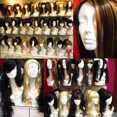 pelucas de diferentes midas