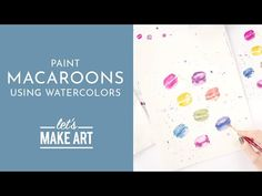 Jump to Tutorial ➝ This beginner-friendly watercolor tutorial is all about playing with a fun and loose watercolor style! This project is a great way to. Watercolor Art Diy, Watercolor Projects, Watercolour Tutorials, Watercolor Techniques, Let's Make Art, Learn To Paint, Have Some Fun, Craft Activities, Box Art