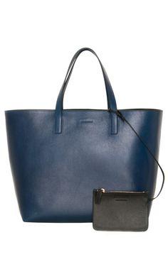 Jil Sander Leather Shopper #Bag