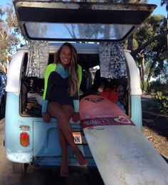 Congratulations Meg Roh! 5 and a half years later she has surfed every.single.day! read more on the ROXY blog