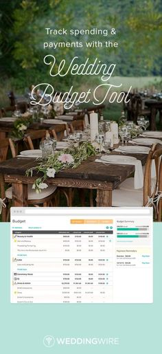 Wedding budget tool to help you on your wedding day! Great tool WeddingWire http://www.mydreamlines.com/2017/01/wedding-budget/ #weddingbudget #weddingbudgettool #weddingwire