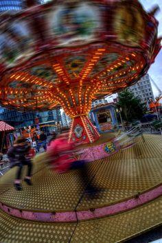 Merry-go-round in Berlin