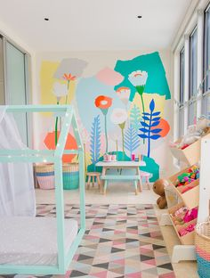 Bedroom : Breathtaking Awesome Colorful Playroom Modern Playroom Simple modern kids bedroom colors Kids Room Design' Childrens Bedrooms' Boys Room Ideas also Bedrooms Colorful Playroom, Playroom Decor, Kids Decor, Bedroom Decor, Decor Ideas, Playroom Ideas, Modern Playroom, Playroom Design, Rug Ideas