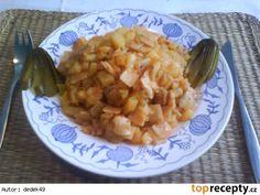 Granadír (Slovak potatoes with pasta and paprika)