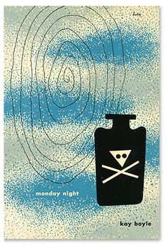 Kay Boyle, Monday Night, New Directions 1947. Cover by Alvin Lustig.