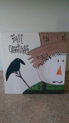 Scarecrow-Fall Greetings