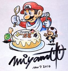 Super Mario Allstars Anniversary Edition artwork including a sketch by Shigeru Miyamoto, logo art, emblems and more. Super Mario Bros, Super Mario All Stars, Nintendo Super Smash Bros, Super Mario Brothers, Scooby Doo Toys, Shigeru Miyamoto, Mundo Dos Games, Pikachu Art, Video Game Art