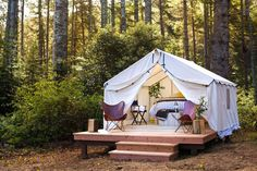 Glamping In California From $34 Per Person Per Night—Sunsets, S'mores & Starry Skies
