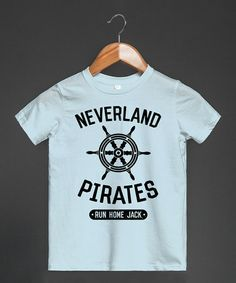 Look what I found on #zulily! Blue 'Neverland Pirates' Tee - Toddler & Boys by Skreened #zulilyfinds