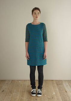 STRIPE TUNIC DRESS | TOAST
