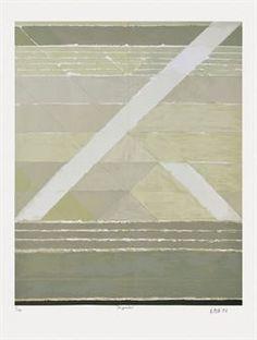 Diagonales by S. H. Raza