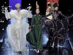 Jean Paul Gaultier Couture Fall/Winter 2013-2014 Collection  #couturefashion