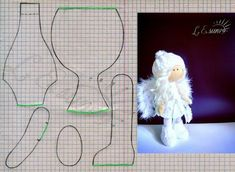 PDF doll body Cloth Doll Pattern PDF Sewing Tutorial+ Pattern Soft Doll Pattern sewing dolls, cloth doll, make a doll, make doll body Doll Sewing Patterns, Sewing Dolls, Doll Clothes Patterns, Pattern Sewing, Tiny Dolls, Soft Dolls, Rag Doll Tutorial, Tutorial Sewing, Fabric Toys