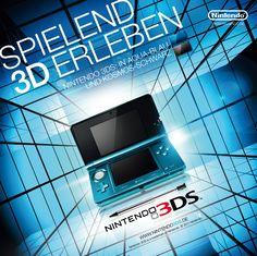 Erstes Launch-Motiv für den Nintendo 3DS