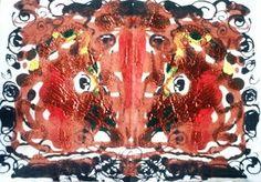 Arte Moderna & Contemporânea: Inspirado no famoso Teste de Rorschach