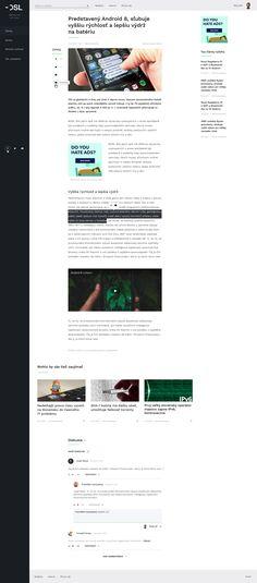 DSL.sk redesign - tech news website