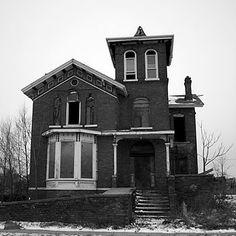 Abandoned House - Detroit