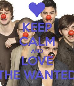 Keep Calm & Love The Wanted <3