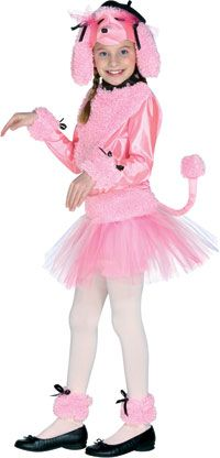 poodle costume for kids dancing dogs in white