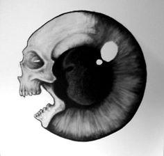 skull pupil