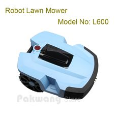 Robotic Lawn mower L600 8A power mower with 2 pcs Lithium battery 4Ah, Father's Day Gift, gifts idea for father / husband