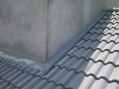Resultado de imagem para fixação telha trapezoidal com platibanda