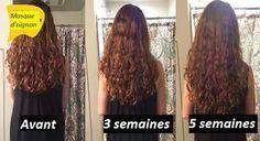 Masque d'oignon pour avoir des cheveux longs et épais rapidement