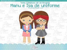 Nova versão C1R - Manu e Isa de uniforme! |