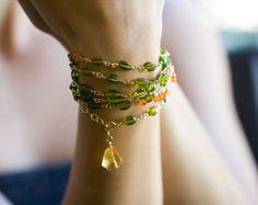 Bracelets by karinjg on Etsy